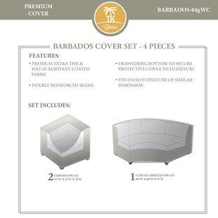 TK Classics Barbados 4 Piece Cover Set