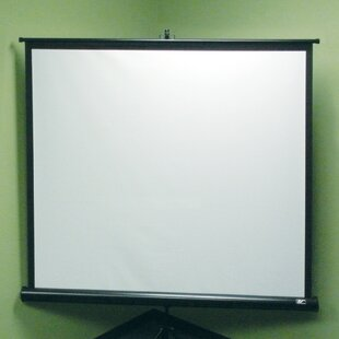 Tripod Series White 92 Portable Projection Screen