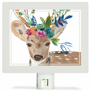 Oopsy Daisy Boho Deer Night Light