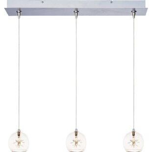 Brayden Studio Kugler 3-Light Pendant