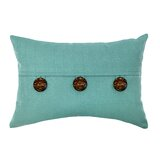 Textured Feather-Filled Rectangular Throw Pillow (Set of 2) by Gracie Oaks
