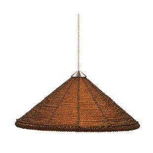 Maya 1-Light Cone Pendant by Tiella