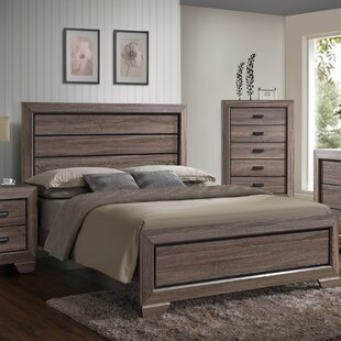 Kelm Wood Panel Bed