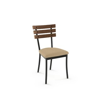 Gracie Oaks Irwin Solid Wood Dining Chair (Set of 2)