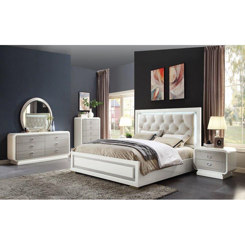 A J Homes Studio Finnigan Standard Configurable Bedroom Set Wayfair