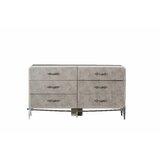 Harre 6 Drawer Double Dresser by Gracie Oaks