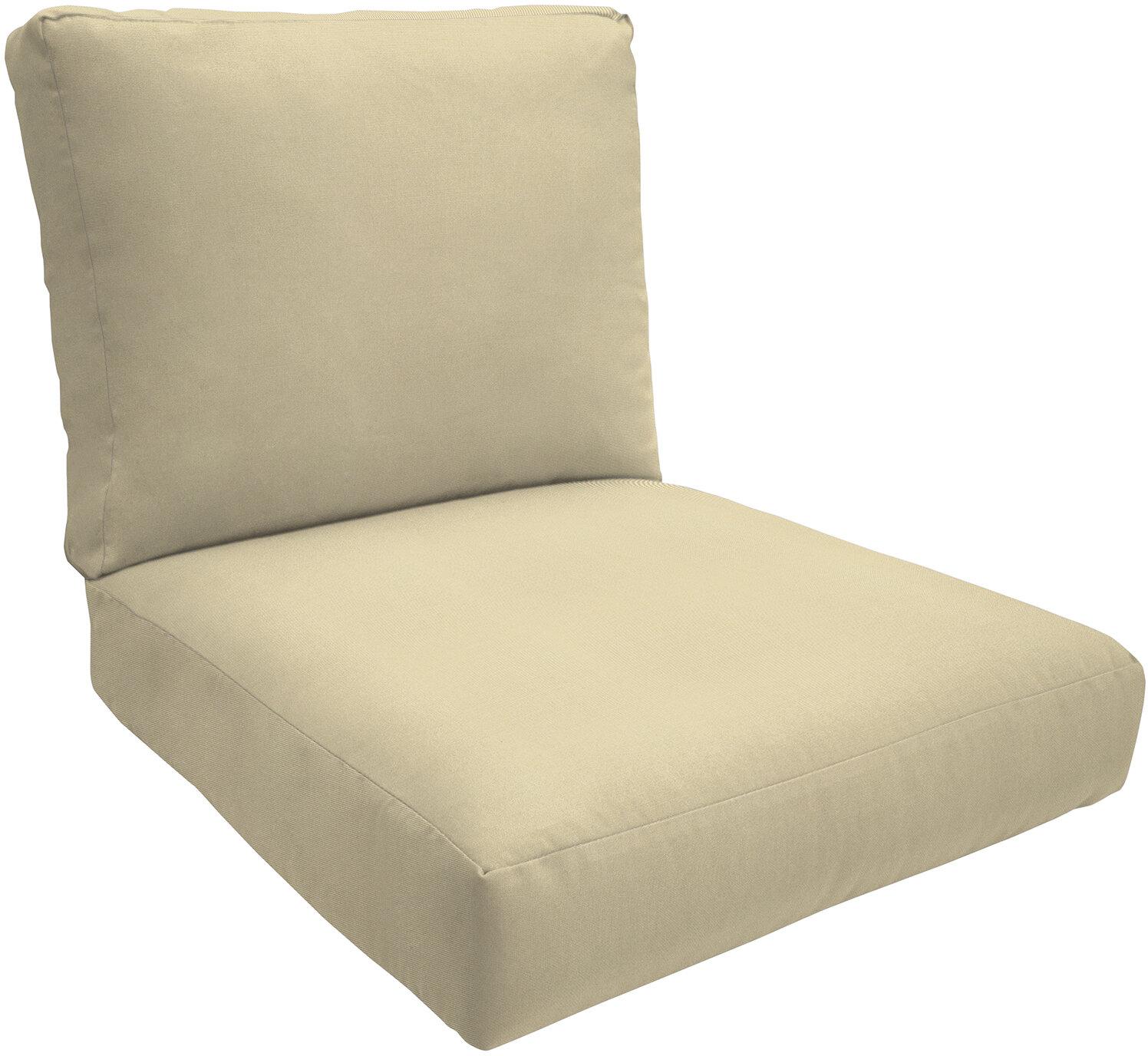 Wayfair Custom Outdoor Cushions Double Piped Outdoor Sunbrella