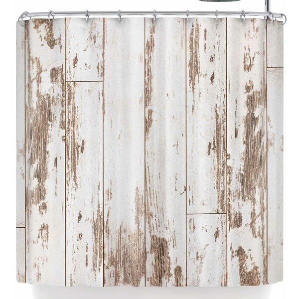 Barn Wood Shower Curtain