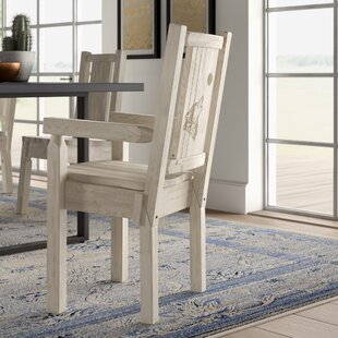 Best Abella Captain's Solid Wood Dining Chair by Loon Peak Reviews (2019) & Buyer's Guide