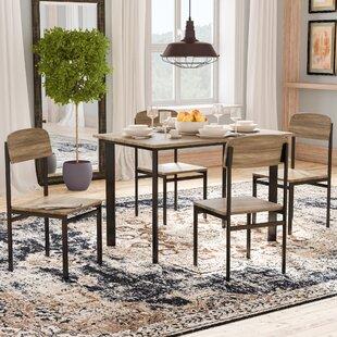Diamondville 5 Piece Dining Set & Apartment Size Dining Set | Wayfair