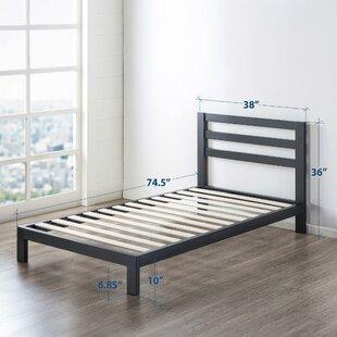Harriett Heavy Duty Metal Platform Bed Frame