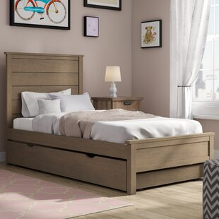 Stella Panel Bed with Trundle