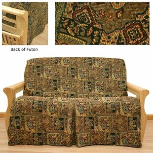 Bombay Box Cushion Futon Slipcover by Easy Fit No Copoun