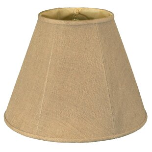 18 Burlap Empire Lamp Shade