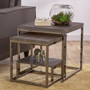 Philippos 2 Piece Nesting Tables