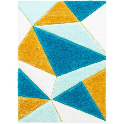 Shag Yellow Amp Gold Area Rugs You Ll Love In 2020 Wayfair