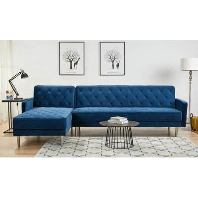 Aqua Sectional Sofa Wayfair