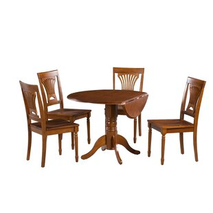 Chesterton 5 Piece Dining Set Alcott Hill