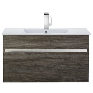 Affordable Price Ivory Floating 36 Single bathroom Vanity ByCutler Kitchen & Bath
