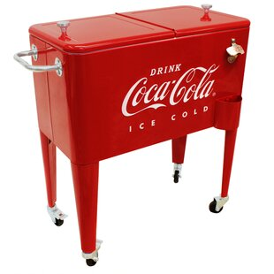 60 Qt. Coca-Cola Embossed Ice Cold Cooler
