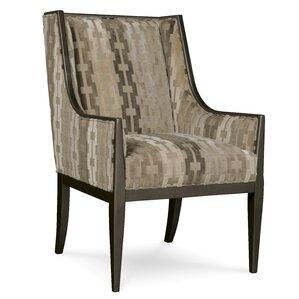 Westphalia Coffee Bean Wing Armchair by Astoria Grand