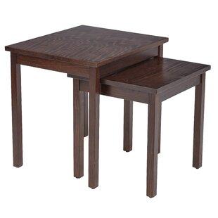 Fabiano 2 Piece Nesting Table Set by Brayden Studio