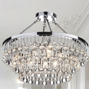 Mcknight 9-Light Semi Flush Mo..