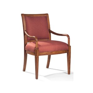 Nicholas Exposed Wood Arm Chair by Sam Moore