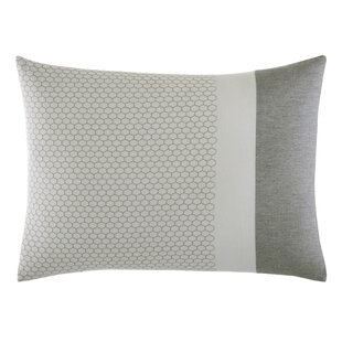 Tuille Floral Honeycomb Cotton Throw Pillow