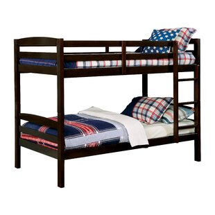 Sulligent Twin on Twin Bunk Bed