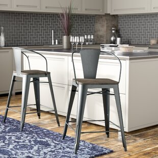 Reedley 67.44cm Bar Stool (Set Of 2) By Blue Elephant