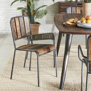 Judsonia Solid Wood Dining Chair (Set of 2) Greyleigh