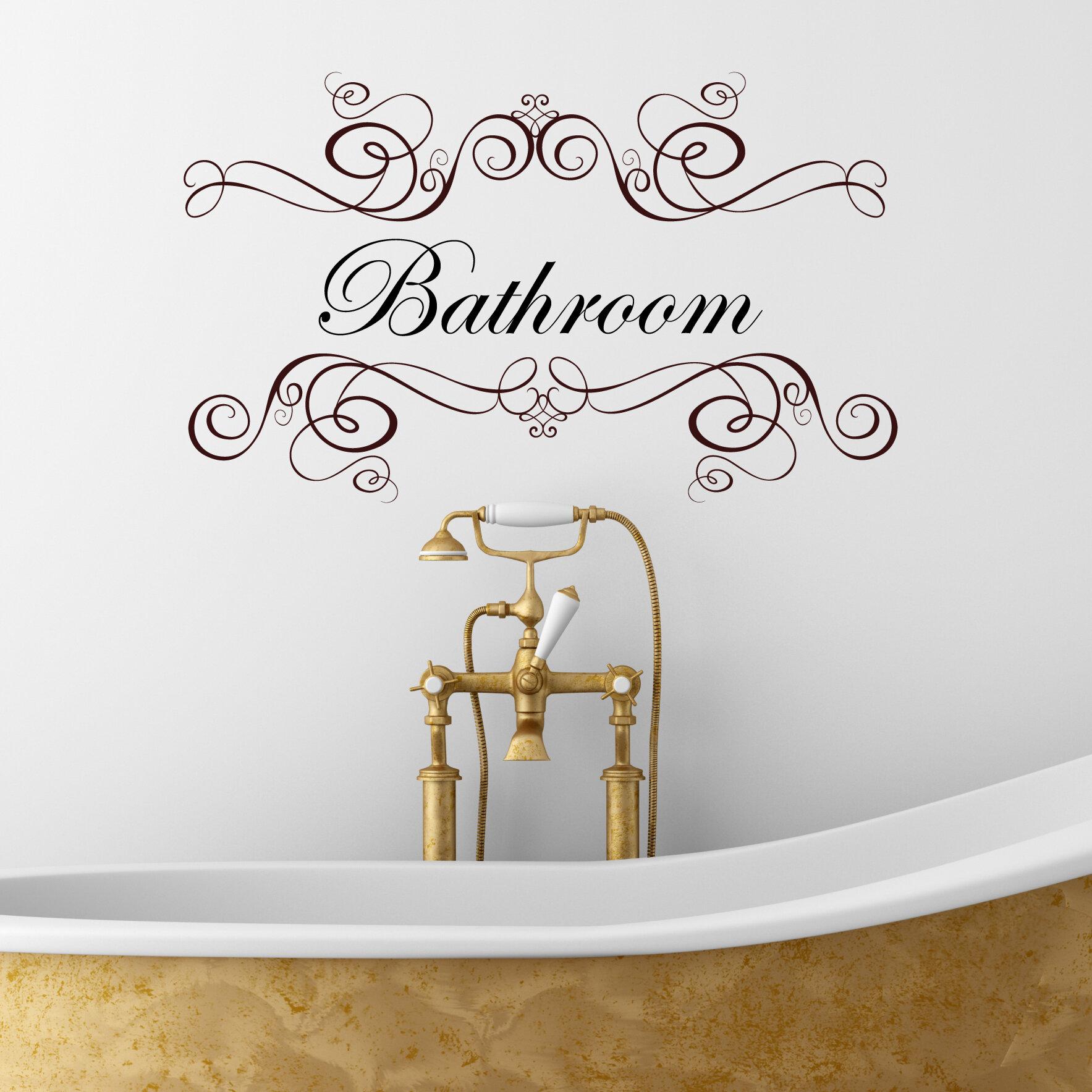 Rosalind Wheeler Bathroom Wall Sticker