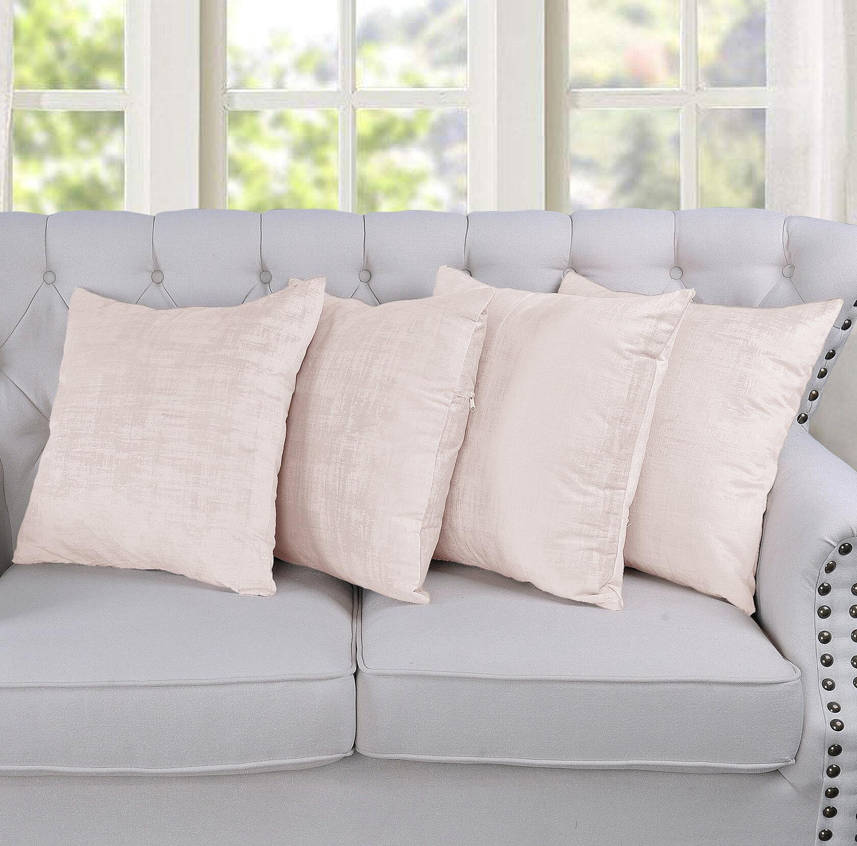 White Throw Pillows Free Shipping Over 35 Wayfair