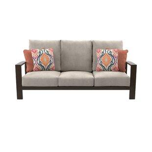 Mistana Luciano Patio Sofa with Cushions