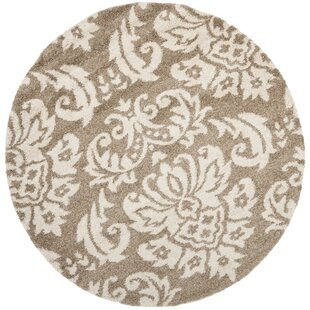 Flanery Beige/Cream Area Rug by House of Hampton