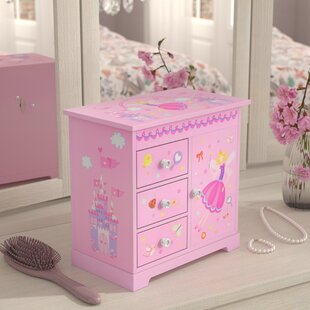 Affordable Musical Ballerina Jewelry Box ByZoomie Kids