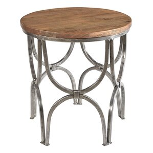 Victoire Round End Table by Ivy Bronx
