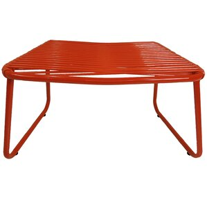 Andre Jelly Aluminum Ottoman by Ebern Designs