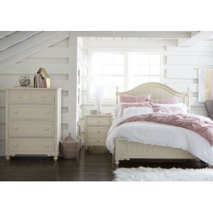LC Kids Summerset Low Poster Bed with Storage