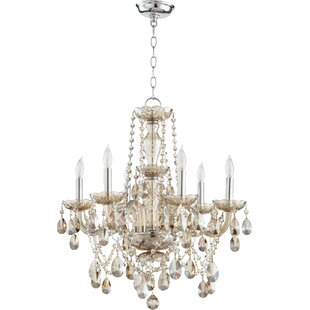 Quorum Katerina 6-Light Candle Style Chandelier