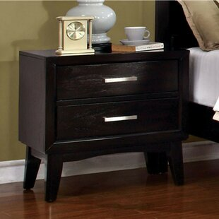 Adalwine 2 Drawer Nightstand by Latitude Run