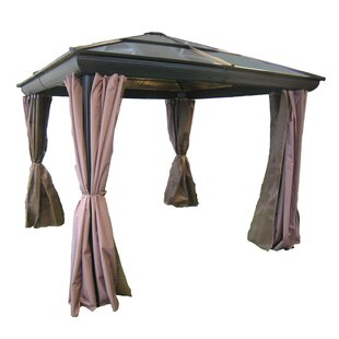 Gazebo Penguin All Season 9 Ft. W X 9 Ft. D Metal Patio Gazebo
