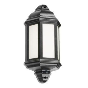 Review Wallis LED Outdoor Wall Lantern With PIR Sensor