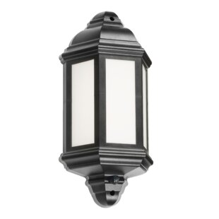 Wallis LED Outdoor Wall Lantern With PIR Sensor By Marlow Home Co.