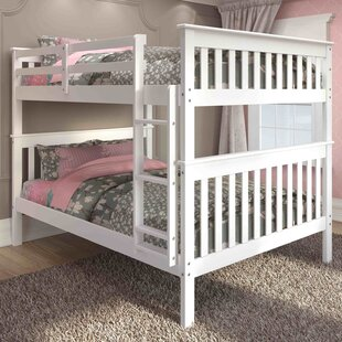 Find the perfect Catharine Full over Full Bunk Bed by Harriet Bee Reviews (2019) & Buyer's Guide