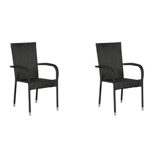 Martucci Stacking Garden Chair (Set Of 2) By Sol 72 Outdoor