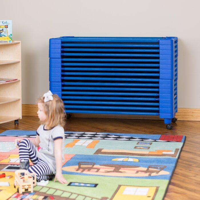 Excellent Stackable Daycare 18 Piece Cot Lamtechconsult Wood Chair Design Ideas Lamtechconsultcom