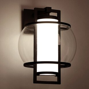 Lucid LED Outdoor Wall Lantern by Modern ..