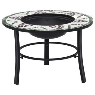 Krug Steel Charcoal Fire Pit By World Menagerie